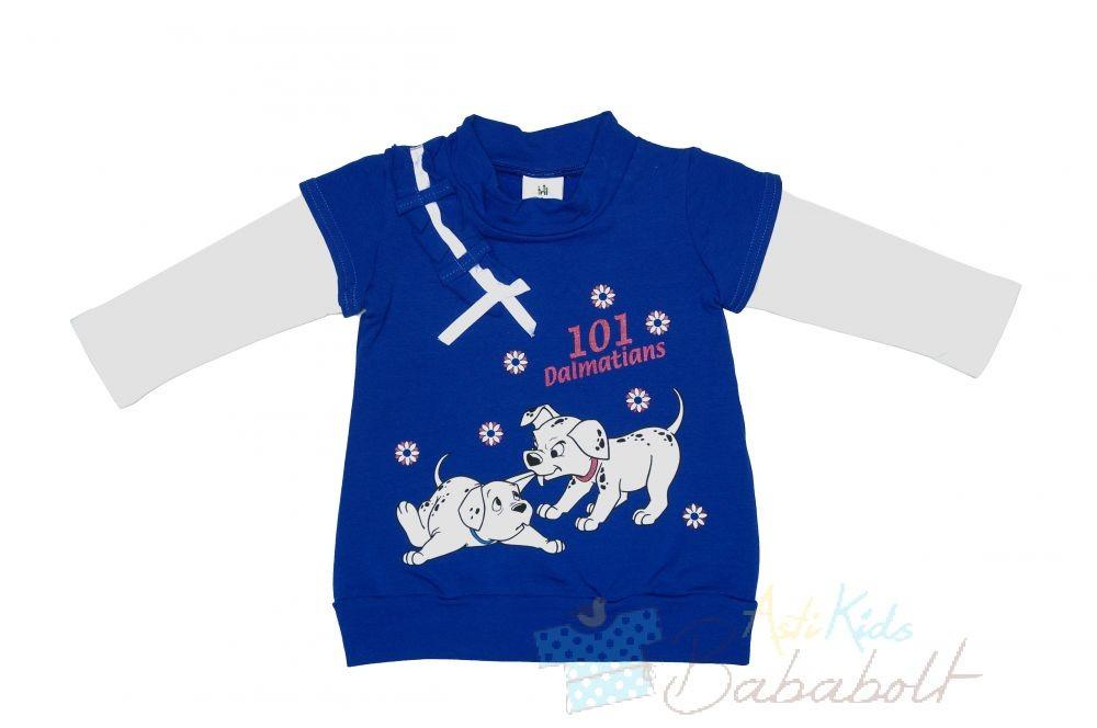 Disney 101 Kiskutya baba gyerek hosszú ujjú bolyhos tunika  (méret  74-98) 61695f2c1d